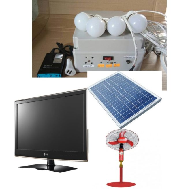 E-Light with Solar TV, FAN and Panel [E-light TO]